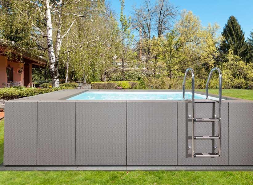 Luxusní nadzemní bazény